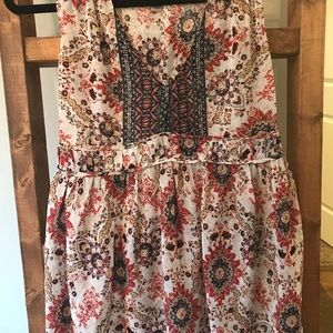 Knox Rose XS Women's sheer boho tank